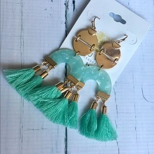 Jewelry - Aura's Tassel Earrings - Brand New!